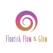 Flourish, Flow & Glow logo