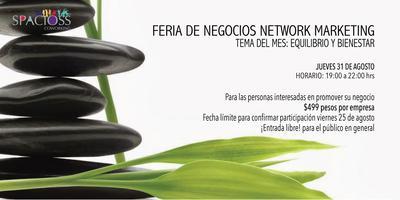 Feria de Negocios de Equilibrio y Bienestar para person...