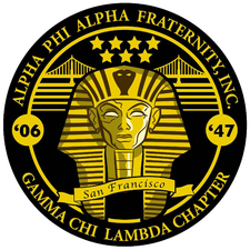 Alpha Phi Alpha Fraternity, Incorporated, The Gamma Chi Lambda Chapter of San Francisco logo