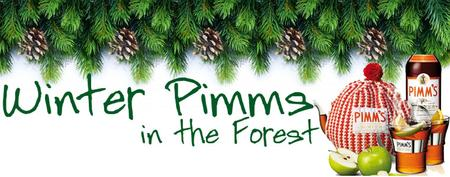 Winter Pimms in the forest 2013