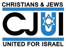 Christians and Jews United for Israel logo