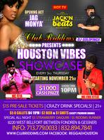 Club Riddims presents Houston Vibes Showcase & Open Mic