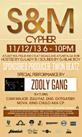 S&M Cypher 11/12 at Atlast Boutique