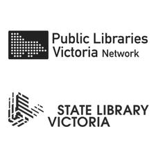 State Library Victoria and Public Libraries Victoria Network logo