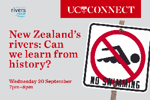 UC Connect: New Zealand's rivers: Can we learn from...