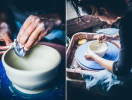 6-Week Clay Wheel-Throwing + Basic Hand-Building Class