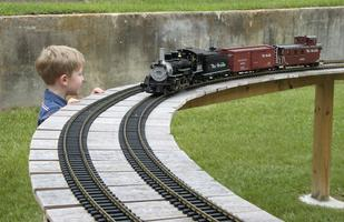 The Greater Baton Rouge Model Railroaders Live Steam Demonstraion