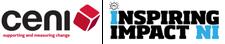 Community Evaluation NI & Inspiring Impact NI logo