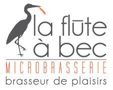 Microbrasserie la Flûte à Bec logo