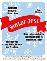 Holiday Craft Show & Bake Sale (Winter Fest)
