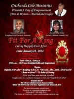 "Crishanda Cole Ministries Present  A Day of Empowerment.. ""Fit..."