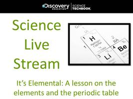 November Science Live Stream: It's Elemental