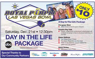 Total Youth Football Experience feat Las Vegas Bowl Day...