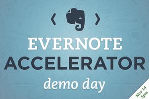 Evernote Accelerator - DEMO DAY
