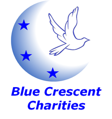 Blue Crescent Charities, Inc. in conjunction with Phi Beta Sigma Fraternity, Inc. logo