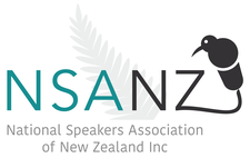 National Speakers Association of New Zealand logo