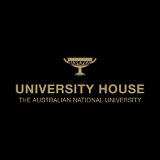 University House, ANU logo