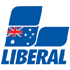 Liberal Party of NSW - Central Coast LGC - Rebecca Gale Collins, Jilly Pilon, Troy Marquet, Chris Burke and Gary Whitaker logo