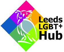 The Leeds LGBT+ Community Hub logo