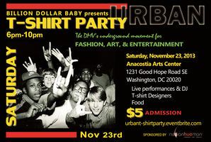 BILLION DOLLAR BABY presents an URBAN T-SHIRT PARTY
