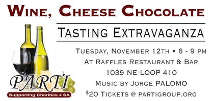 Wine, Cheese & Chocolate Tasting Extravaganza