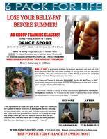 LOSE YOUR BELLY-FAT WITH 6 PACK AB GROUP TRAINING! #1...