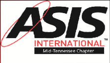 ASIS International Middle TN Chapter #052   logo