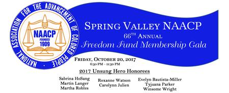 Spring Valley NAACP 66th Annual Freedom Fund...