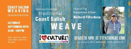 Coast Salish Weaving Demonstration
