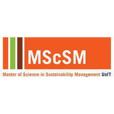 Master of Science in Sustainability Management (MScSM) logo