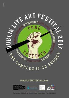 Dublin Live Art Festival 2017 logo