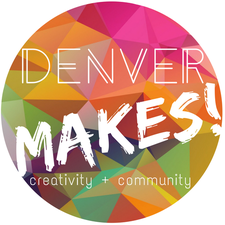 Denver Makes!  logo