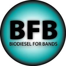 Biodiesel for Bands logo