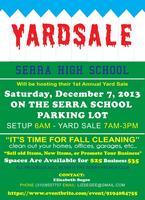 YARD SALE - Serra High School
