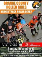 OC Roller Girls - Banked Track Roller Derby- Bombshell...