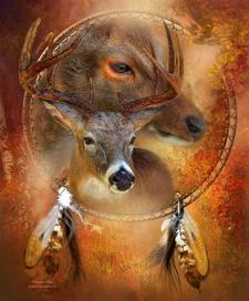 Deer Spirit Events - Julie Fenn logo