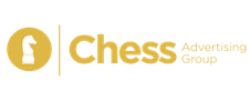 Couching by: Chess Advertising Group logo