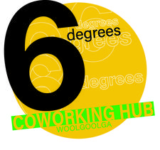6 Degrees Woolgoolga logo