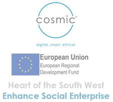 Enhance Social Enterprise - Cosmic logo