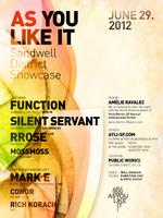 As You Like It Presents a Sandwell District Showcase