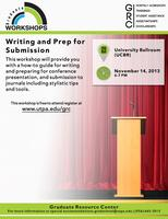 Writing and Prep for Submission