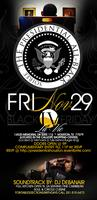 PRESIDENTIAL: ALL BLACK SOIREE FRIDAY  11/29 @ LA VIE...