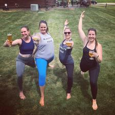 Namaste Rosé | Yoga, Fitness & Lifestyle Events logo