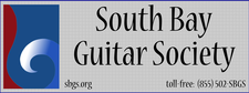 South Bay Guitar Society logo