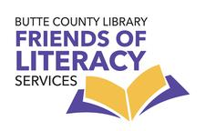 Butte County Library Friends of Literacy Services logo
