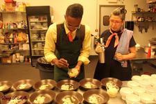 Chef Hopeton and Oksana present FLAVOR EXCURSIONS logo