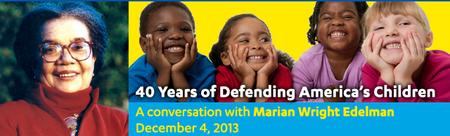 Luskin Lecture Series: A Conversation with Marian Wright...