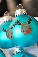 Christmas Ornament Workshop at 11:00 a.m.