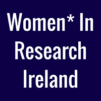 Women in Research Ireland with support from Trinity Centre for Gender Equality and Leadership logo