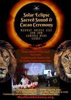Leo Black Moon Solar Eclipse Sacred Sound & Cacao...